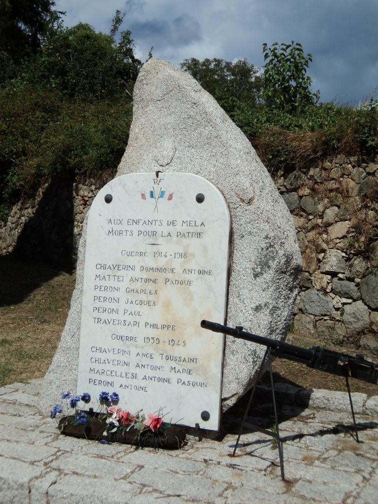 Monument aux morts de Mela