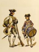 Rgt royal corse tambour 1740